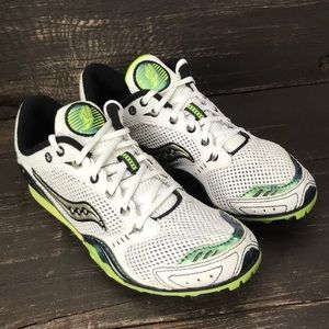 Saucony Velocity 3 Distance Track Spikes Size 7.5